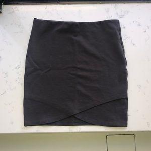 Sunday Best gray mini skirt